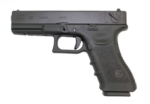 WE EU18 Gen 3 Black Gas Blowback Pistol