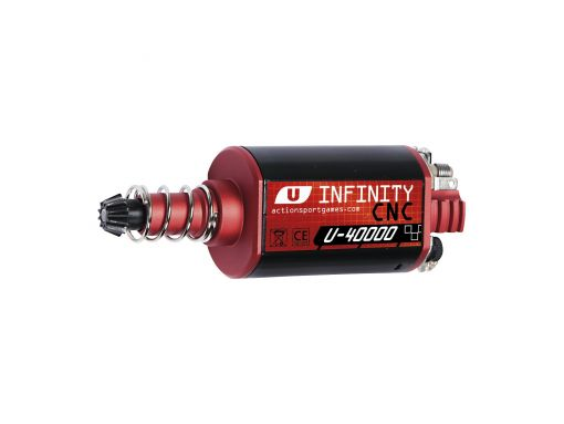 ASG Infinity CNC Ultimate Motor. 40000RPM, Long Axle.