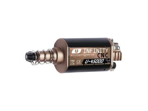ASG Infinity CNC Ultimate Motor. 45000RPM, Long Axle.
