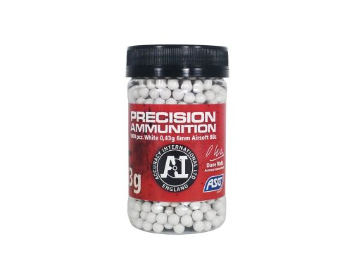 ASG Precision Ammunition Heavy 0,43 gram BBs 1000pcs