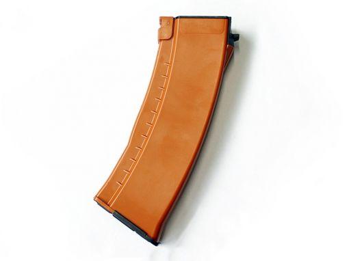 E&L AK74N MID-CAP 120RDS MAGAZINE (BAKELITE, ORANGE COLOR)