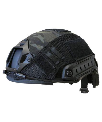 Kombat UK Fast Helmet Cover - Multi-Terrain Black