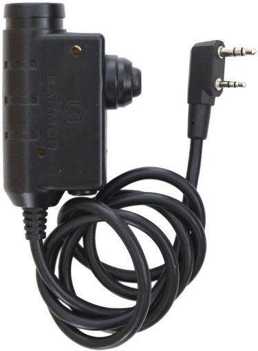 Earmor M51 PTT - Kenwood Adapter