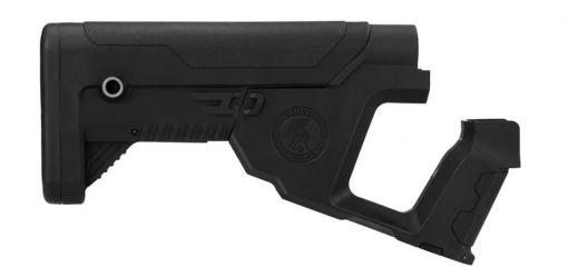 Lancer Tactical Alpha Stock Black for M4 AEG