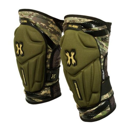 HK Crash Knee Pads - HSTL Camo
