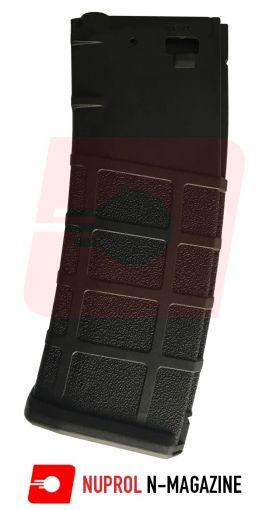 NUPROL N-MAG HIGH-CAP MAG 350RND - BLACK