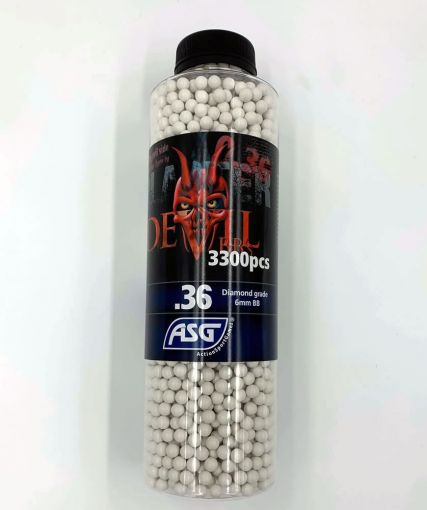 ASG Blaster Devil 0,36g Airsoft BB -3300 pcs. in bottle