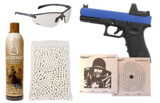 Raven EU18 + BDS Dual Tone Airsoft Pistol Package