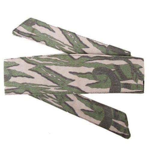 HK Hostilewear Headband - Snakes Olive/Tan