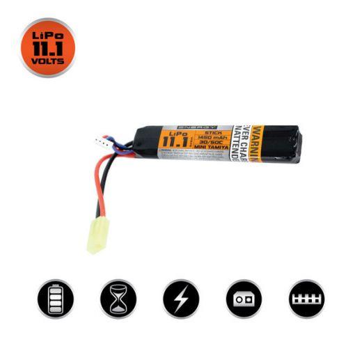 Valken V Energy Lipo 11.1v 1450mah 30c/50c Stick