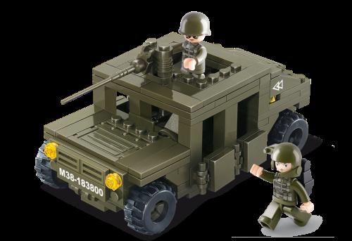 Sluban Army - Armoured Car