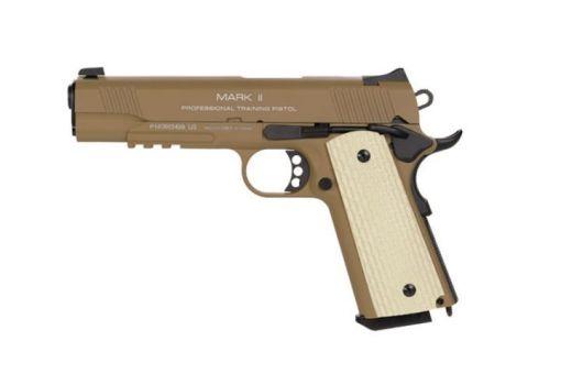 KWA 1911 MKII PTP Gas Blowback Pistol - Dark Earth
