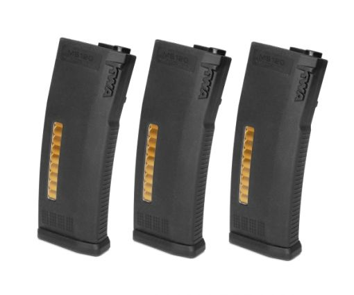 KWA Adjustable Mid Cap M4 Magazine 3 Pack