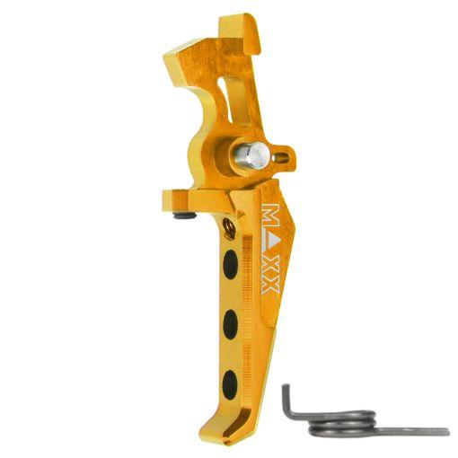 Maxx CNC Aluminum Advanced Speed Trigger Gold Style E