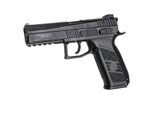 ASG CZ P-09 Gas Bblowback Pistol Including Case Black