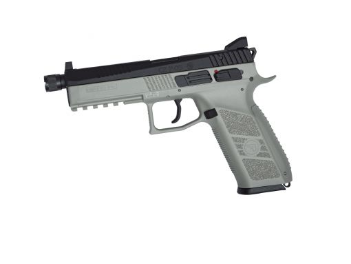 ASG CZ P-09 C02 Gas Blowback Pistol Urban Grey