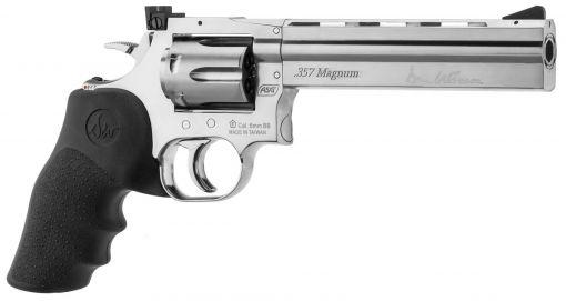 """ASG Dan Wesson 715 6"""" Revolver - Silver (Low Pressure)"""