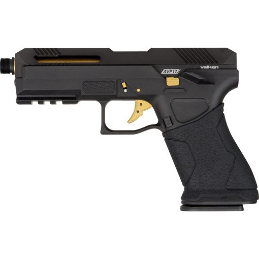 Valken AVP17 Gas Blowback Pistol - Black
