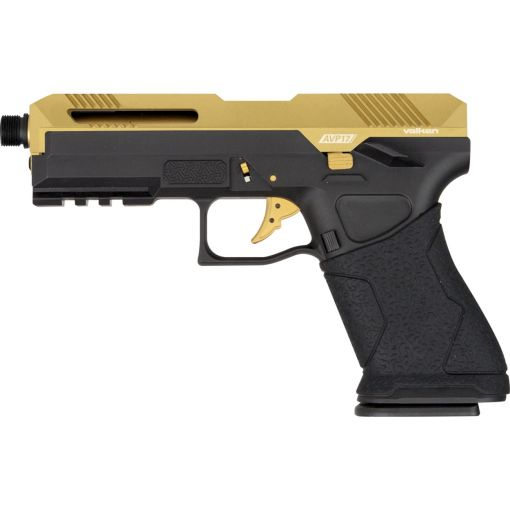 Valken AVP17 Gas Blowback Pistol - Gold