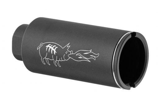 Noveske style sound hog flash hider - 90mm