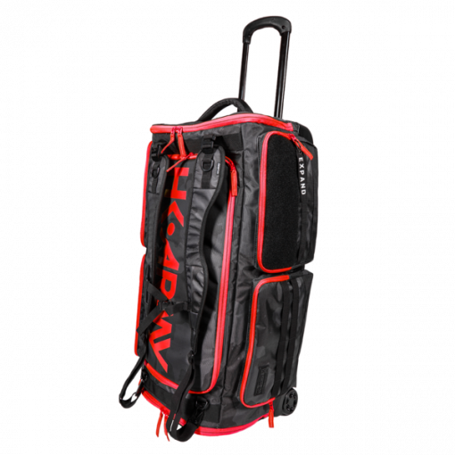 Hk Army Expand Roller Gear Bag - Shroud Black/Red