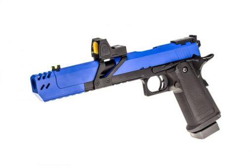 Raven Dragon 7 Hi-Capa with BDS - Dual Tone Blue