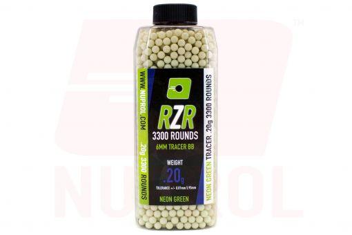 Nuprol RZR 3300rnd 0.20g Green Tracer BB's