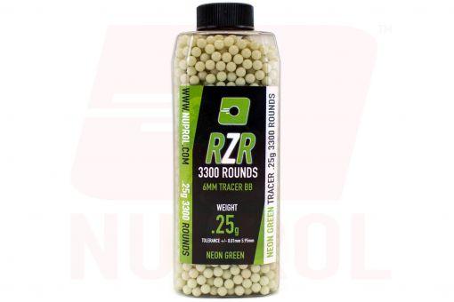 Nuprol RZR 3300rnd 0.25g Green Tracer BB's
