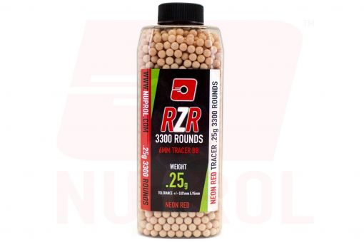NP RZR 3300rnd 0.25g Red Tracer BB's