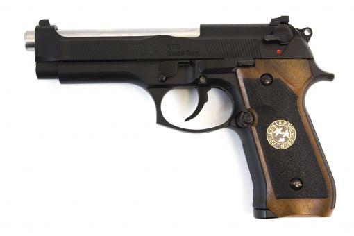 WE Biohazard M92 GEN2 Black Full Auto Pistol