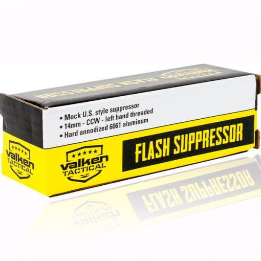 Valken Mock Suppressor- V Tactical Flash 14mm ccw
