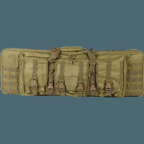 Valken V Tactical Double Rifle Tactical-42 Gun Case-Tan