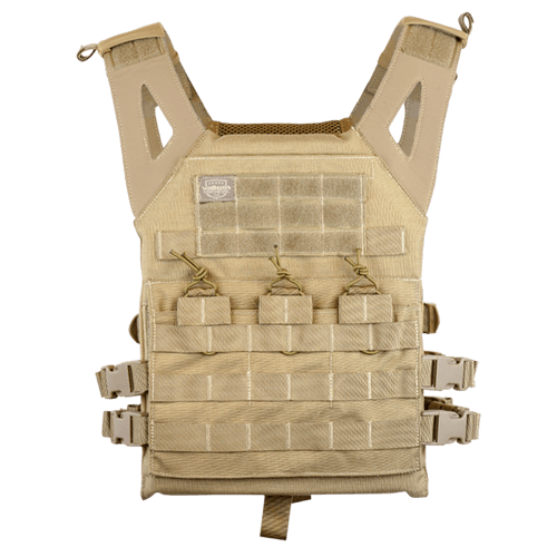 Valken Plate Carrier II Vest-Tan
