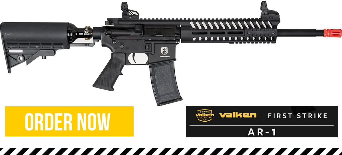 Valken First Strike Ar-1 Available now