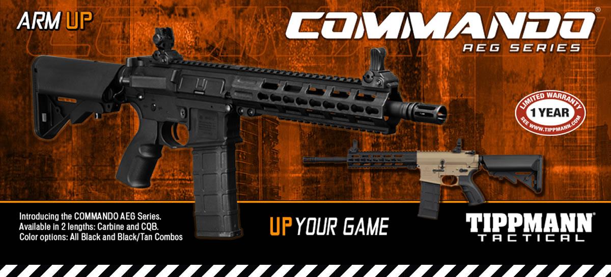 Tippmann Commando Series AEG Available now