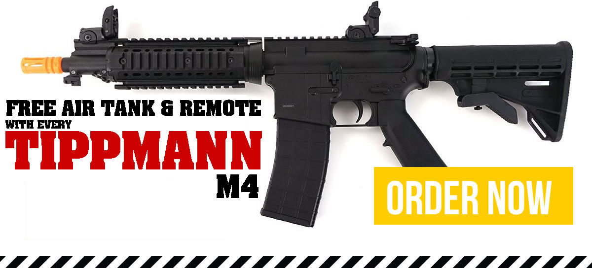 Tippmann M4 Available now with free tank and remote
